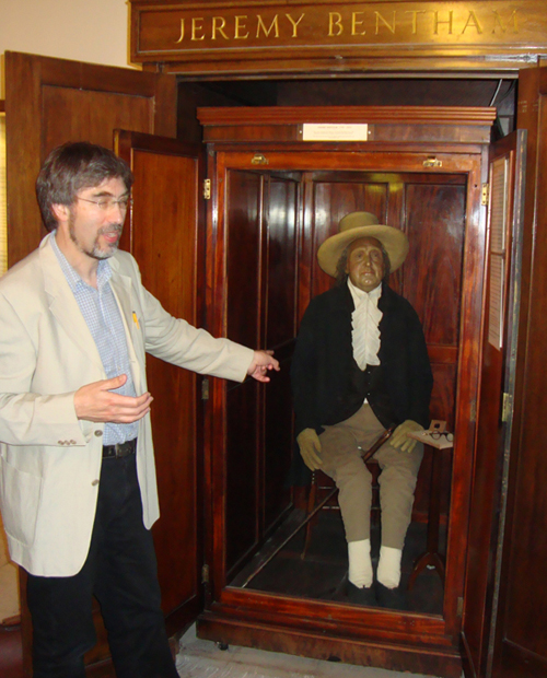 Jeremy Bentham's Corpse Attended UCL Board Meeting