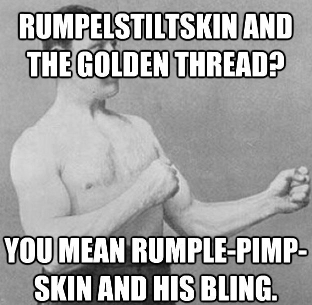 Rumpelstiltskin Dies By Being Ripped In Two In One Version Of The Story